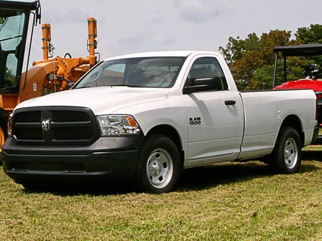Top Consumer Rated Trucks of 2014 - 2014 Ram 1500 Regular Cab