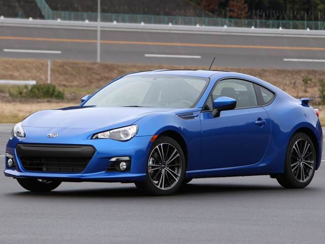 Top Consumer Rated Coupes of 2014 - 2014 Subaru BRZ