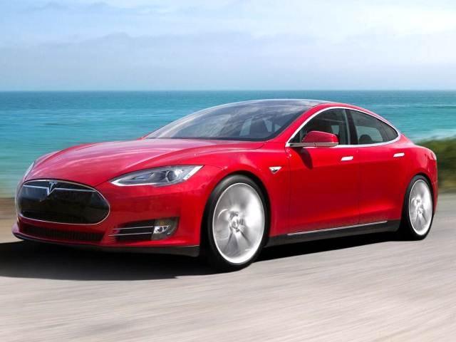 Most Popular Electric Cars of 2014 - 2014 Tesla Model S