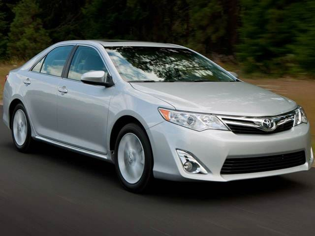 Most Popular Sedans of 2014 - 2014 Toyota Camry