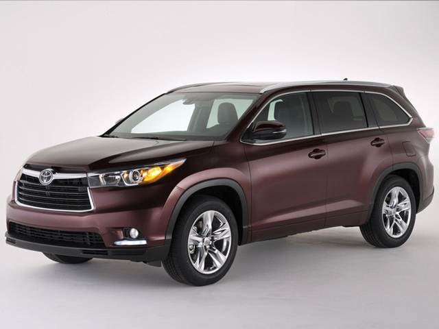 Top Expert Rated Crossovers of 2014 - 2014 Toyota Highlander