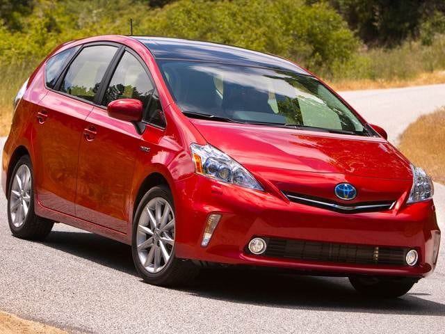 Most Fuel Efficient Hybrids of 2014 - 2014 Toyota Prius v