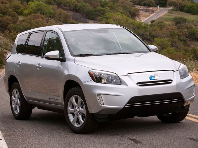 Most Fuel Efficient Crossovers of 2014 - 2014 Toyota RAV4