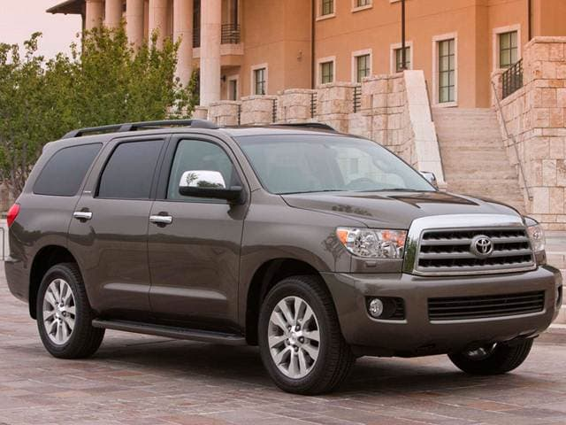 Top Consumer Rated SUVS of 2014 - 2014 Toyota Sequoia