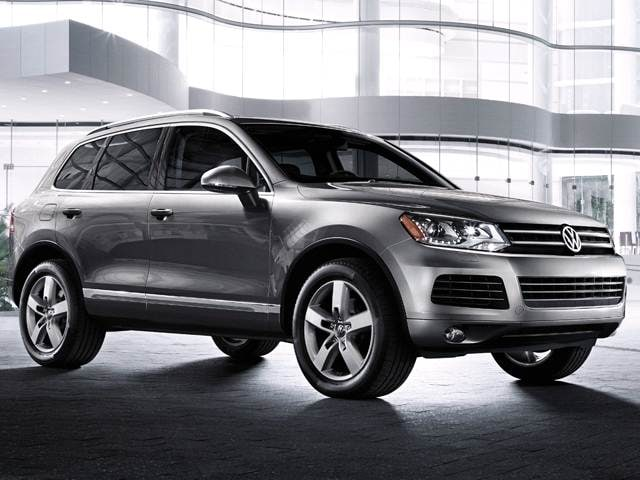 Top Consumer Rated SUVS of 2014 - 2014 Volkswagen Touareg