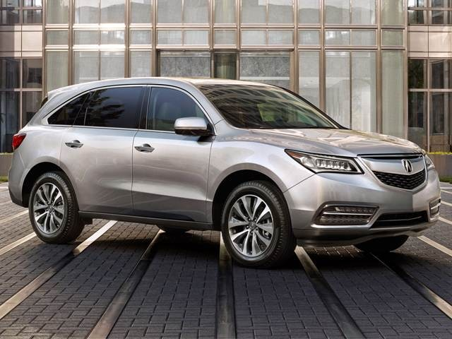 Top Expert Rated Luxury Vehicles of 2015 - 2015 Acura MDX