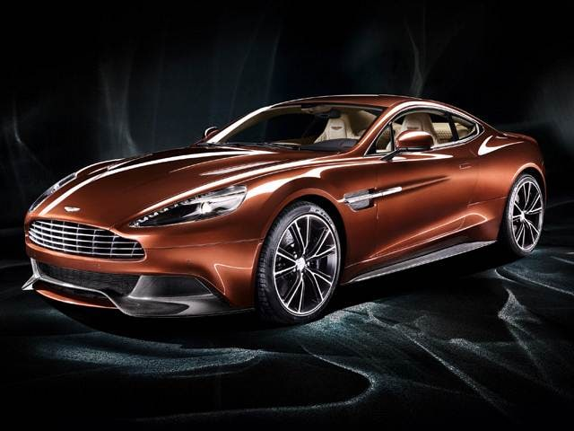 Top Consumer Rated Coupes of 2015 - 2015 Aston Martin Vanquish
