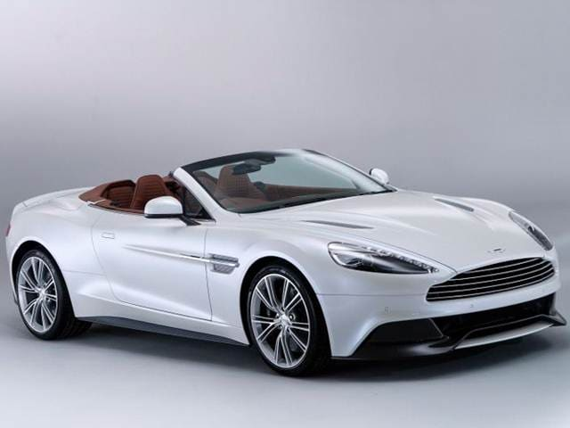 Highest Horsepower Convertibles of 2015 - 2015 Aston Martin Vanquish