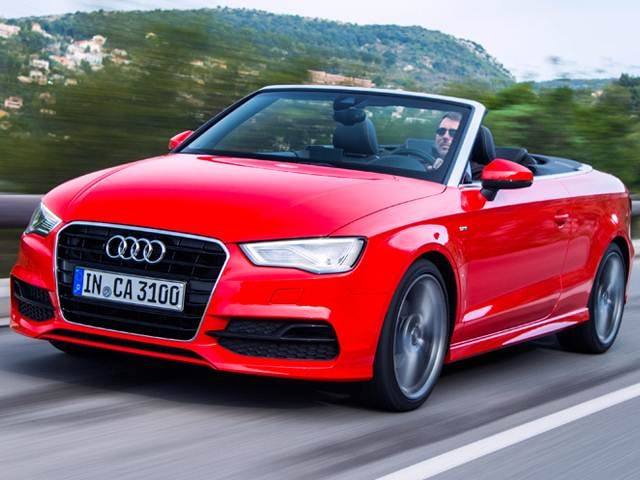 Top Expert Rated Convertibles of 2015 - 2015 Audi A3