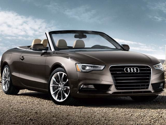 Top Expert Rated Convertibles of 2015 - 2015 Audi A5