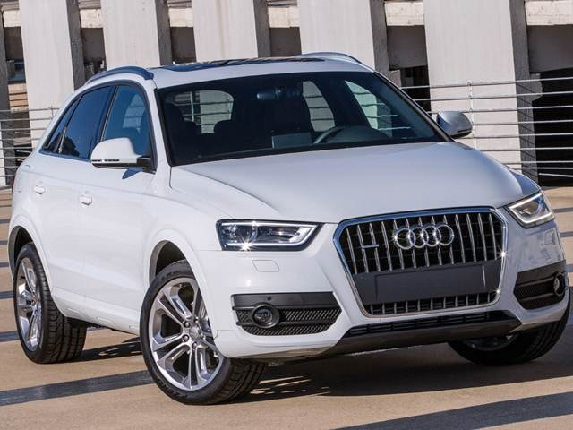 Top Consumer Rated SUVS of 2015 - 2015 Audi Q3