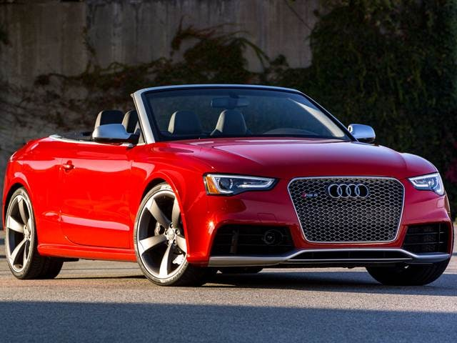Top Expert Rated Convertibles of 2015 - 2015 Audi RS 5
