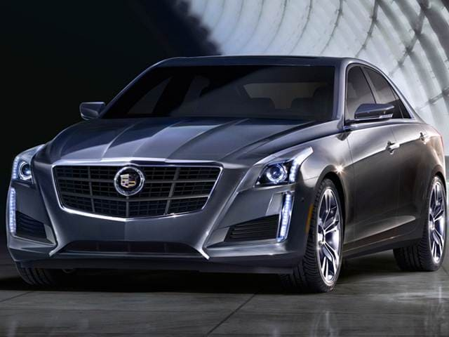 Best Safety Rated Luxury Vehicles of 2015 - 2015 Cadillac CTS