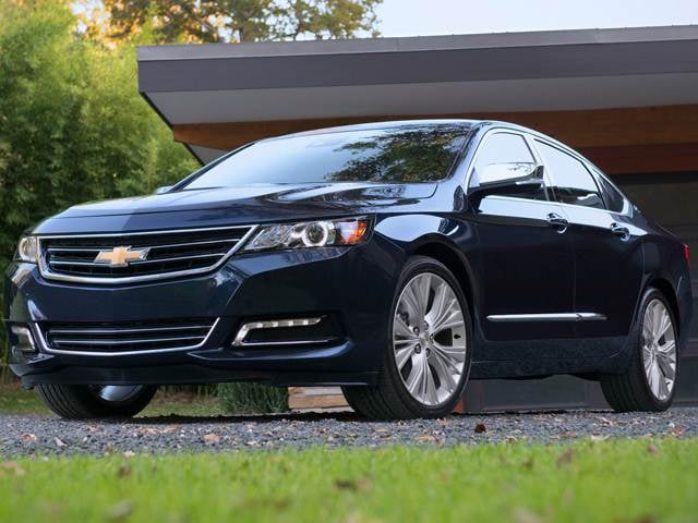 Top Expert Rated Sedans of 2015 - 2015 Chevrolet Impala