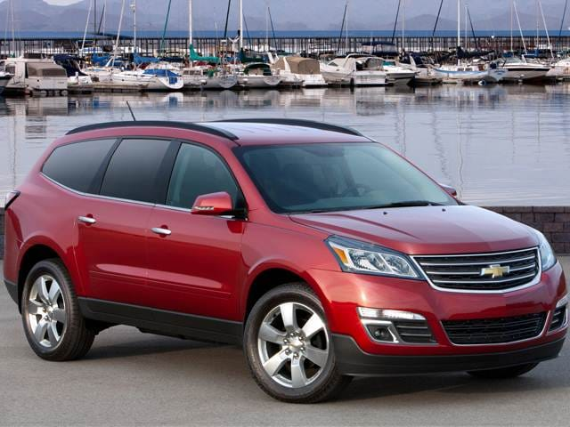 Most Popular Crossovers of 2015 - 2015 Chevrolet Traverse