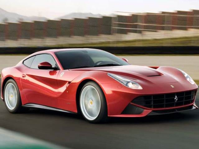 Highest Horsepower Luxury Vehicles of 2015 - 2015 Ferrari F12berlinetta