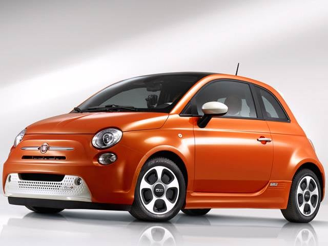 Most Fuel Efficient Hatchbacks of 2015 - 2015 FIAT 500e