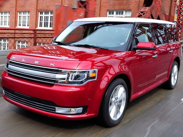 Top Consumer Rated SUVS of 2015 - 2015 Ford Flex