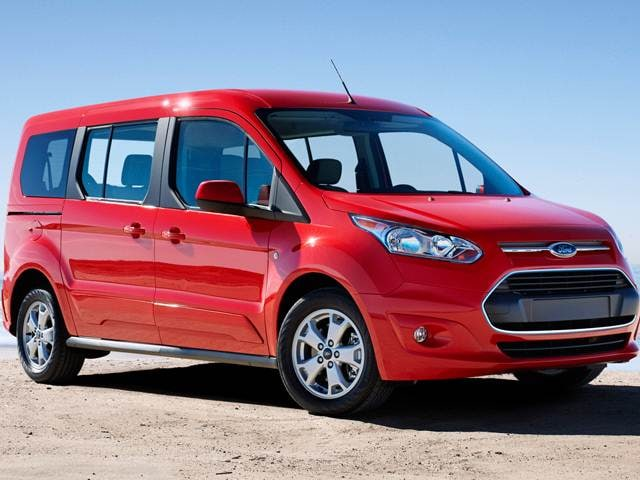 Best Safety Rated Van/Minivans of 2015 - 2015 Ford Transit Connect Passenger