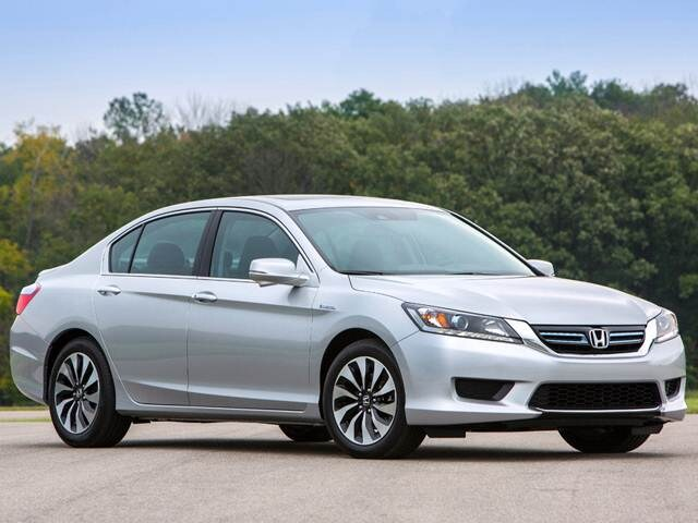 Most Fuel Efficient Hybrids of 2015 - 2015 Honda Accord Hybrid