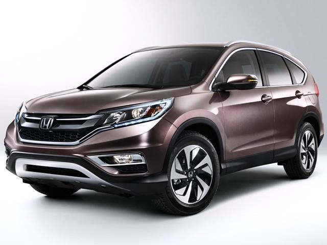 Most Popular Crossovers of 2015 - 2015 Honda CR-V