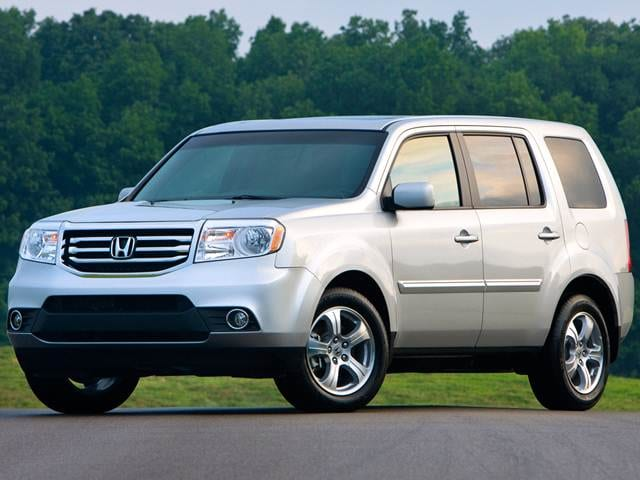 Most Popular Crossovers of 2015 - 2015 Honda Pilot