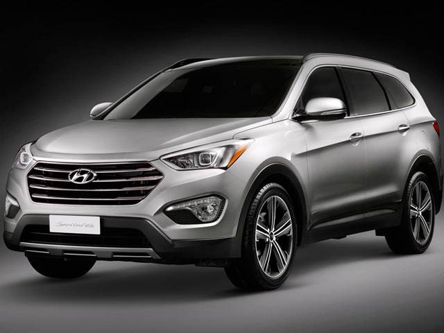 Top Consumer Rated SUVS of 2015 - 2015 Hyundai Santa Fe