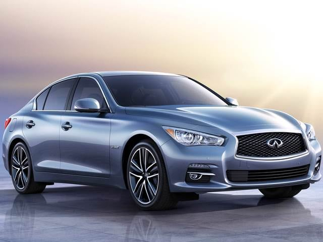 Best Safety Rated Luxury Vehicles of 2015 - 2015 INFINITI Q50
