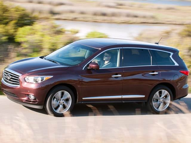 Best Safety Rated Luxury Vehicles of 2015 - 2015 INFINITI QX60