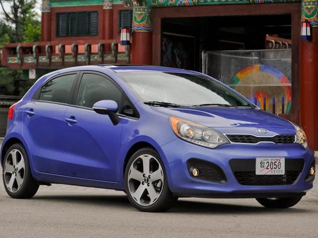 Top Expert Rated Hatchbacks of 2015 - 2015 Kia Rio