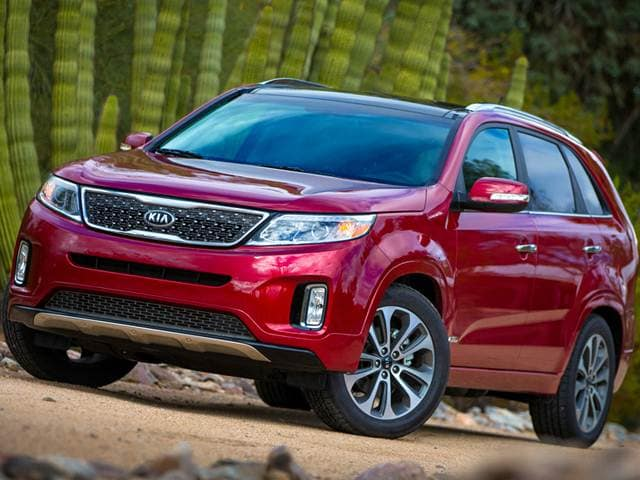 Top Expert Rated Crossovers of 2015 - 2015 Kia Sorento