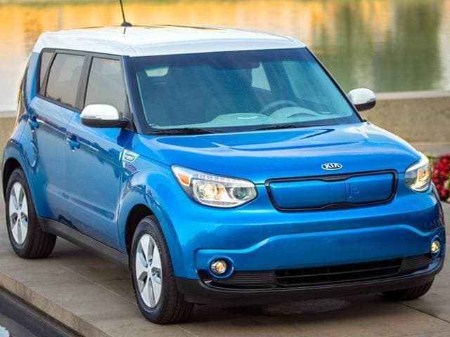 Most Fuel Efficient Hatchbacks of 2015 - 2015 Kia Soul EV