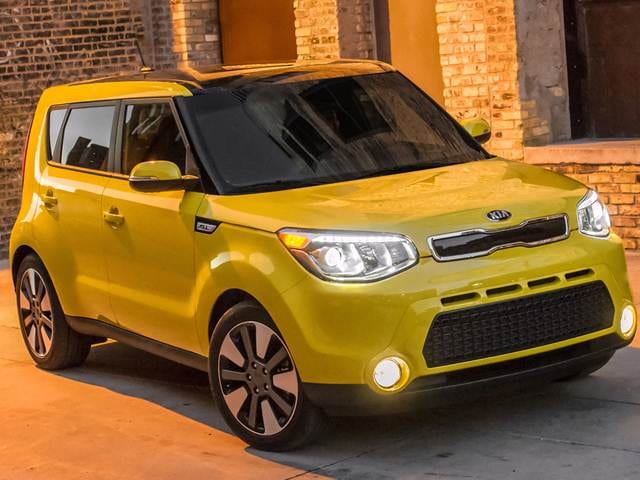Best Safety Rated Wagons of 2015 - 2015 Kia Soul