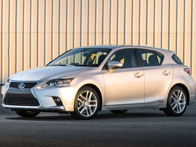 Most Fuel-Efficient Luxury Cars of 2015 - 2015 Lexus CT 200h