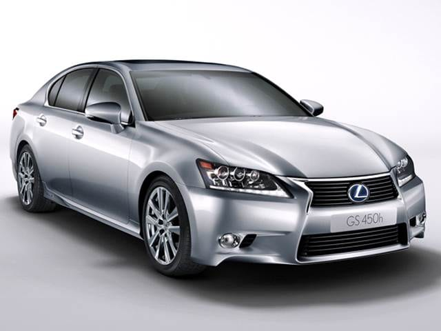 Top Consumer Rated Hybrids of 2015 - 2015 Lexus GS
