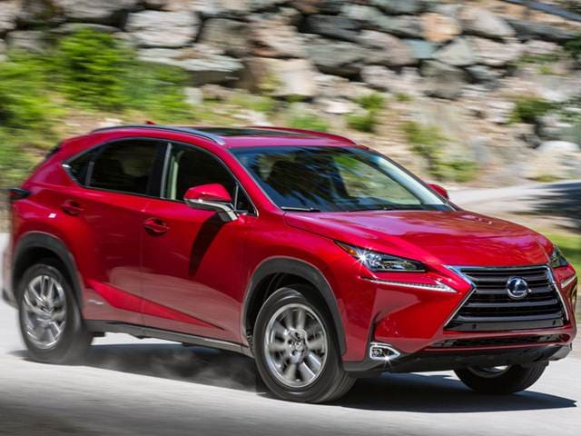 Most Fuel Efficient SUVS of 2015 - 2015 Lexus NX
