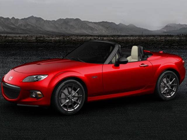 Top Expert Rated Coupes of 2015 - 2015 Mazda MX-5 Miata