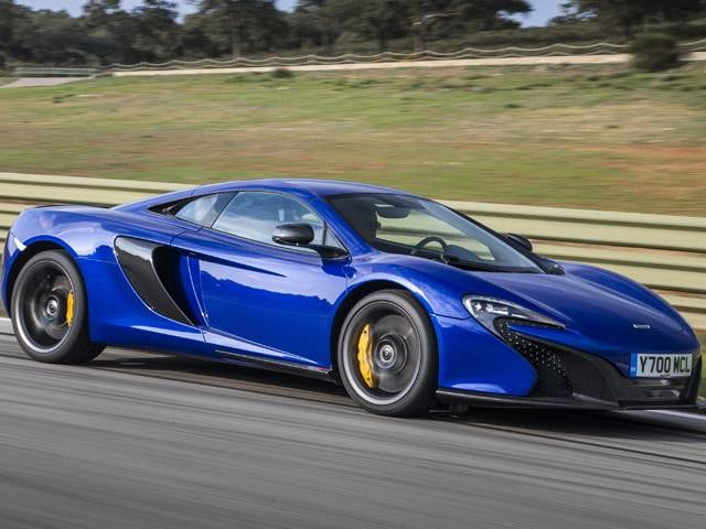 Top Consumer Rated Coupes of 2015 - 2015 McLaren 650S