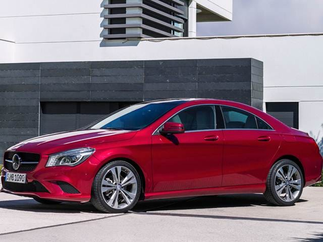 Most Fuel Efficient Coupes of 2015 - 2015 Mercedes-Benz CLA-Class