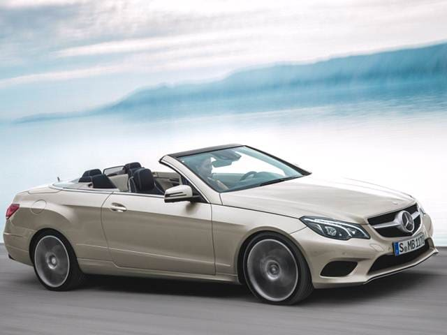 Most Popular Convertibles of 2015 - 2015 Mercedes-Benz E-Class