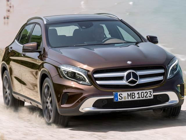 Most Fuel Efficient SUVS of 2015 - 2015 Mercedes-Benz GLA-Class