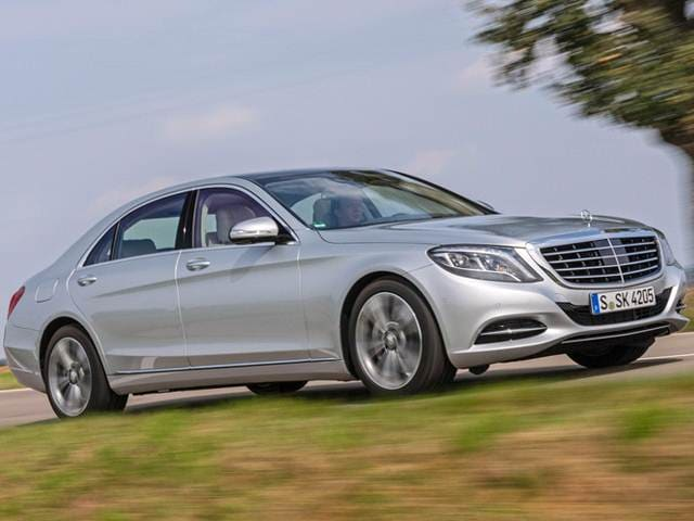 Highest Horsepower Electric Cars of 2015 - 2015 Mercedes-Benz S-Class