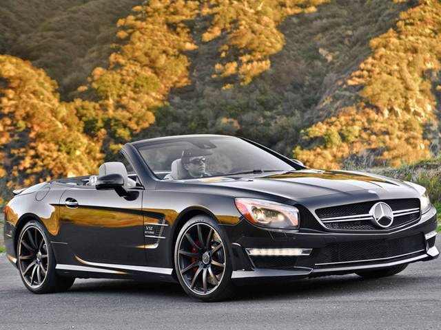 Highest Horsepower Luxury Vehicles of 2015 - 2015 Mercedes-Benz SL-Class