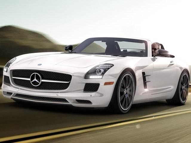 Highest Horsepower Convertibles of 2015 - 2015 Mercedes-Benz SLS-Class