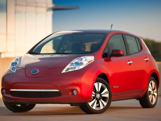 Most Fuel Efficient Hatchbacks of 2015 - 2015 Nissan LEAF