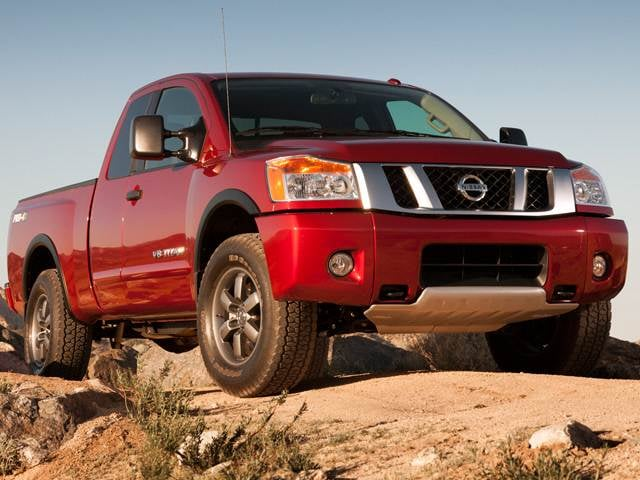 Most Popular Trucks of 2015 - 2015 Nissan Titan King Cab