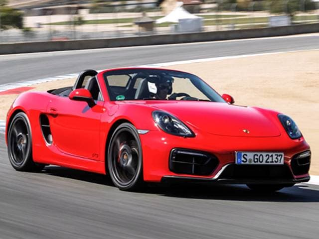 Top Expert Rated Convertibles of 2015 - 2015 Porsche Boxster