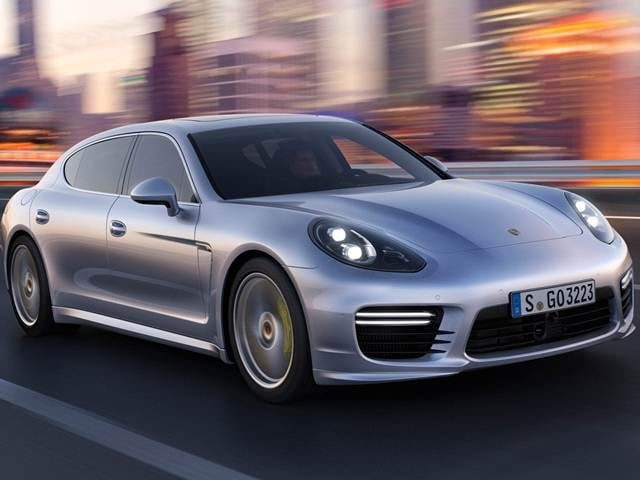 Highest Horsepower Sedans of 2015 - 2015 Porsche Panamera