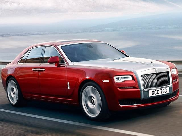 Highest Horsepower Sedans of 2015 - 2015 Rolls-Royce Ghost