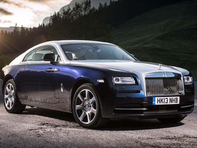 Highest Horsepower Luxury Vehicles of 2015 - 2015 Rolls-Royce Wraith
